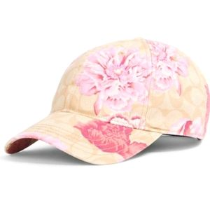 ❤Coach Hat in Signature Kaffe Fassett Print